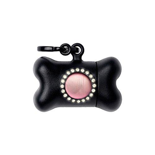 United Pets Bon Ton Nano Luxury Distributeur de Sachet Hygiénique pour Chien Noir