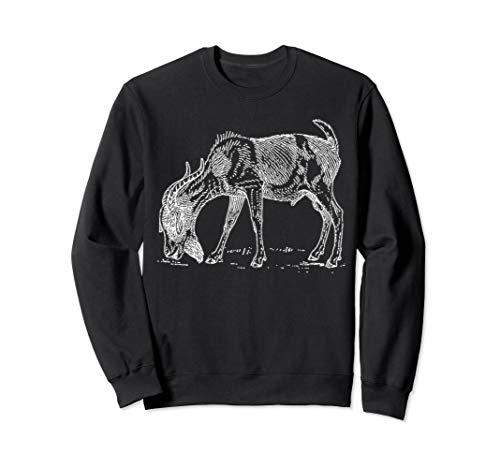 Billy Goat Graphic Tee, Goat Animal Lover Sweatshirt