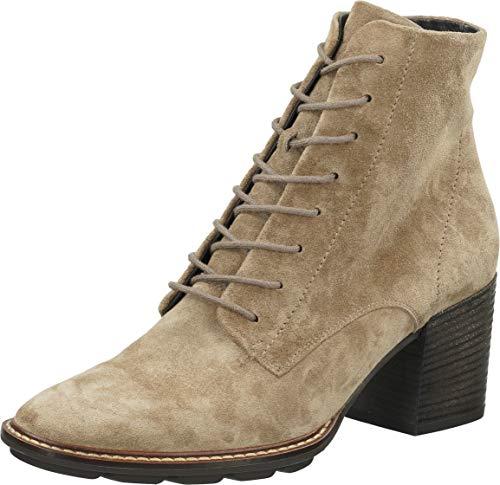 Paul Green Damen Stiefeletten, Frauen Schnürstiefelette, halb-Stiefel schnür-Bootie übergangsschuh Lady Ladies feminin,Grau,5 UK / 38 EU