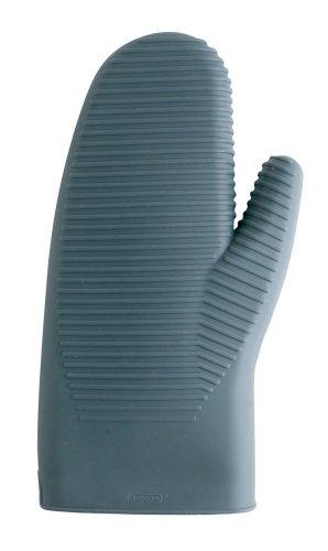 Dexas 12-Inch Silicone Oven Mitt, Gray