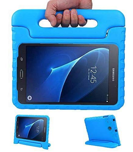 LEADSTAR Kids Case for Samsung Galaxy Tab A 7.0 Shockproof Case Light Weight Super Protection Cover Handle Stand Case for Kids Children for Samsung Galaxy Tab A 7.0-inch SM-T280 SM-T285 (Blue)