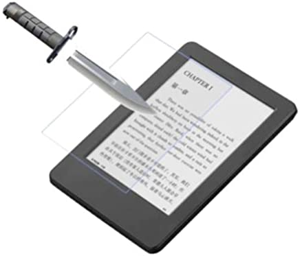 AuCatStore(TM) Pro Tempered Glass Screen Protector FLIM for Amazon Kindle Paperwhite RH