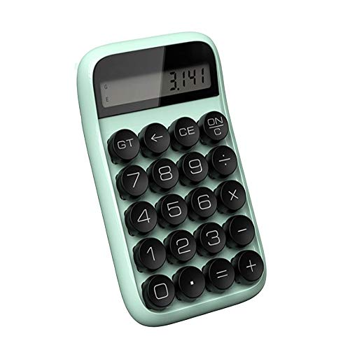 Office Rekenmachine Mechanische Calculator Candy Gekleurde grote knop Calculator Vermogen Office Desktop Calculator plastic behuizing Cijferweergave Standaardfunctie