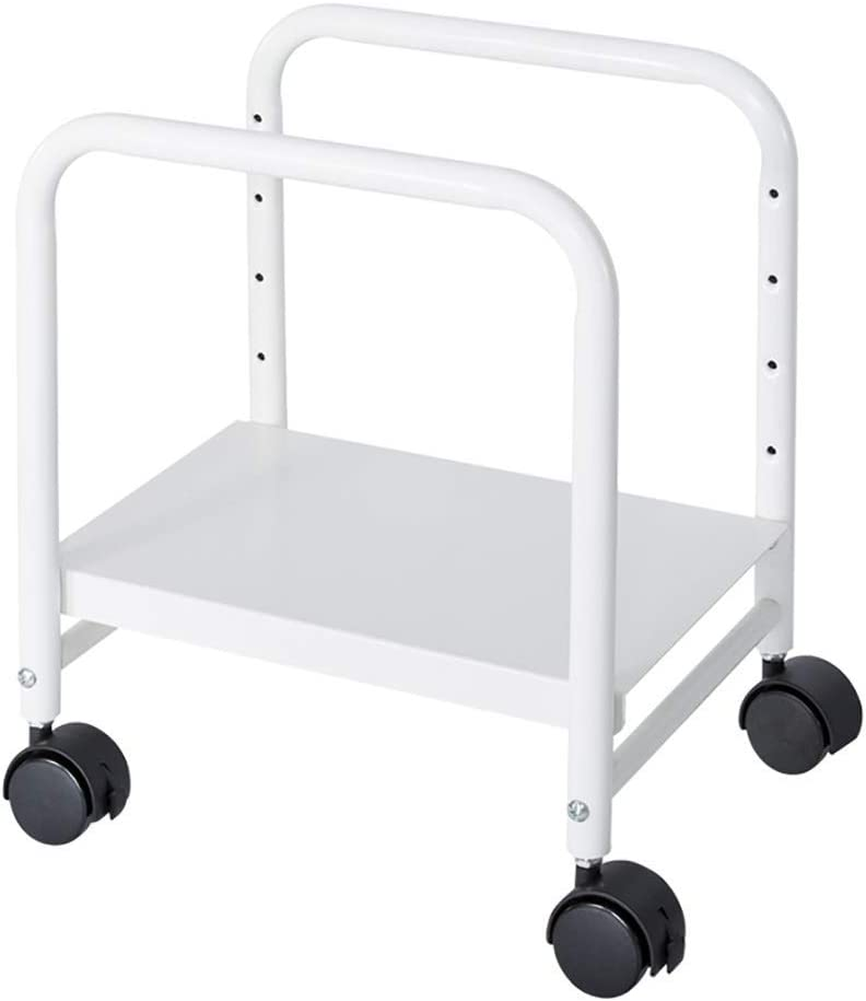 ShiSyan Oakland Mall Computer Cart Height-Adjustable Suitabl price CPU Mobile Stand