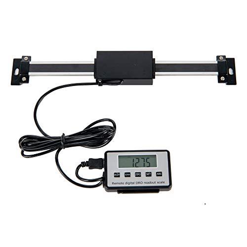 Beslands lineare Skala digitale LCD-Digitalanzeige 0-150 mm digitaler kapazitiver Wegsensor für Fräsmaschinen