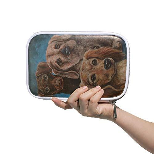 Trousse de maquillage pour chien - Grande capacité - Pour l'école de voyage