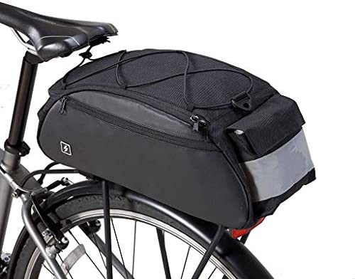 Sahoo Bike Rack Bag Bike Pannier Rear Rack Bike Bag Back Pack Bicyle Painner Trunk Bag Series product image