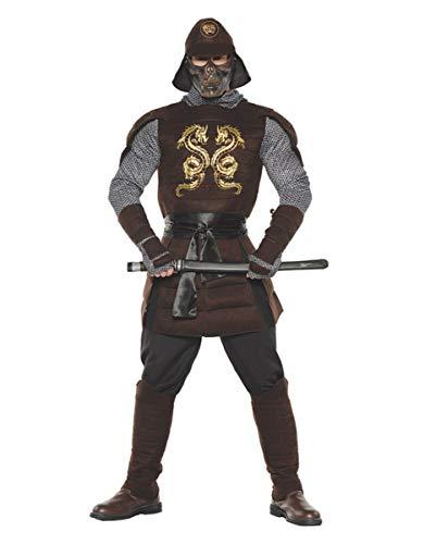 Horror-Shop Samurai Krieger Kostüm für Fasching & Halloween XXL
