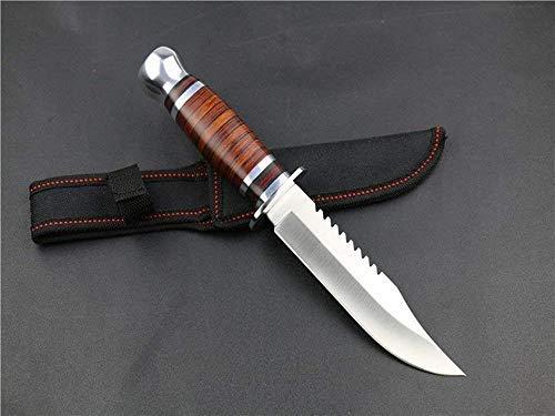 WESTERN Couteau de Survie Couteau de Chasse Couteau d'extérieur SA07