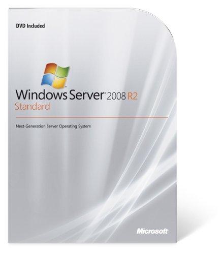Preisvergleich Produktbild Systembuilder Windows Server Standard inkl. HyperV 2008 R2 64Bit x64 1pk DSP OEI DVD 1-4CPU 5 Clt