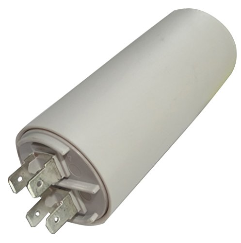 AERZETIX: Condensatore permanente di lavoro per motore 25µF 425V con capicorda 6,3mm Ø40x92mm ±5% 10000h C18731