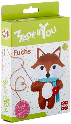 Made by You 13057 - Fuchs - Kuscheltier zum Selbernähen