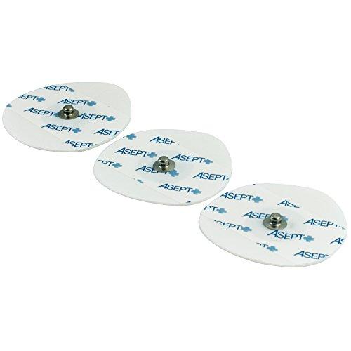 60 EKG-Elektroden für Erwachsene 50 x 48 mm