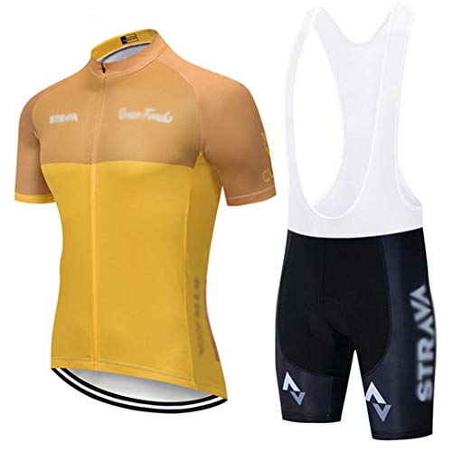 Traje de ciclismo de manga corta para verano, protección solar, traje de ciclismo a prueba de sudor, bicicleta de montaña de manga corta ropa