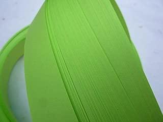 Froebel Moravian Star Strip Weaving Papers~ Spring Green (1 inch)