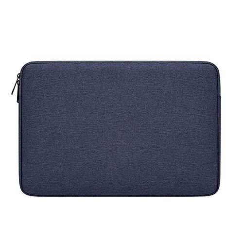 BLHQ Funda para Portátil, Funda Ligera Y Portátil para Macbook Pro Lenovo DELL Toshiba HP ASUS Acer Chromebook Notebook Funda Protectora Impermeable,Azul,15.4Inch