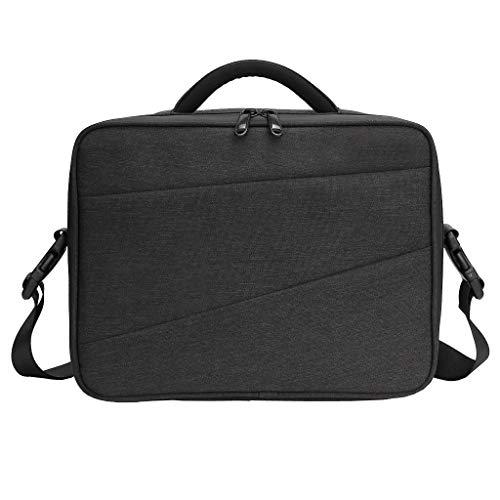 Zsnh Portable Storage Tasche wasserdichte Tragetasche Box-Handtasche for Autozubehör RC-Teile (Color : Black)