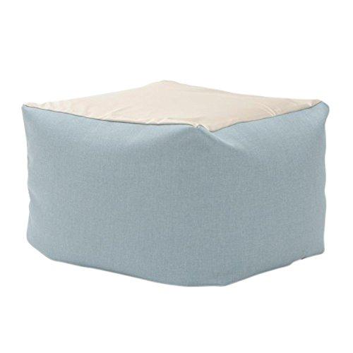 セルタン ビーズクッション 和楽の葵 XLサイズ ライトブルー カバーが洗える 日本製 A600a-605LBL/610BE