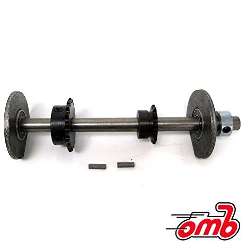 "OMB Warehouse 3/4"" #41 Jackshaft Kit w/ 10"" Jackshaft Mini Bike Go Kart Parts"