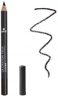 AVRIL - Lápiz de Ojos Negro Carbón - BIO - Aplicación