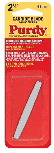 Purdy 144900235 Surface Prep Tool Premium Carbide Scraper Replacement Blades, 2-1/2 inch