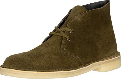 Clarks Desert Boot Dark Olive Suede 11.5