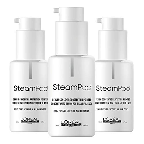 3 x Loreal Steampod Serum 50 ml