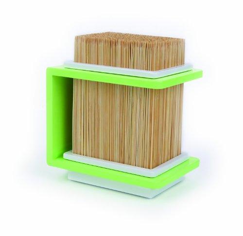 Cookut - Ceppo per coltelli in bambù, colore verde