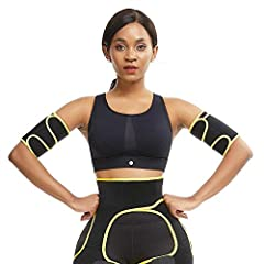 1.HIGH-QUALITY FABRIC : 80% neoprene and 20% nylon, keep the temperature, accelerate sweating and perspiration, breathable and comfortable, give you the ultimate sports and fitness experience. 2.FAT BURNER : Neoprene material improve sweating and cir...