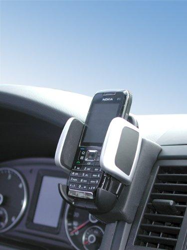 KUDA 096755 Halterung Kunstleder schwarz für VW T5 Multivan ab 2009 (Fach mit Deckel) (Nicht Caravelle) (Nicht Startline-Edition)