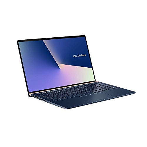 ASUS ZenBook 13 UX333FA (90NB0JV3-M00300) 33,7 cm (13,3 Zoll, FHD, WV) Ultrabook (Intel Core i5-8265U, 8GB RAM, 256GB SSD, Intel UHD-Grafik 620, Windows 10) Royal Blue (Generalüberholt)