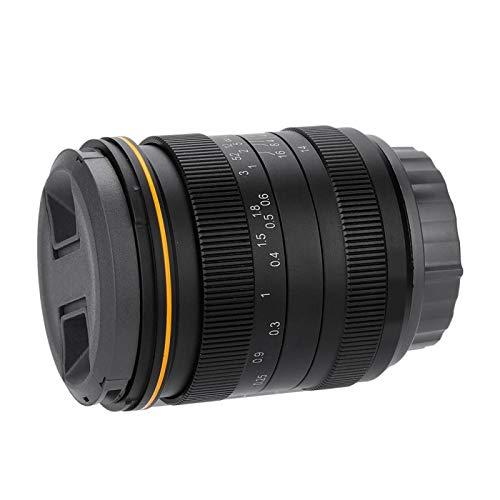 DAUERHAFT Lente de la cámara Enfoque Manual Vidrio óptico de Primera Calidad...