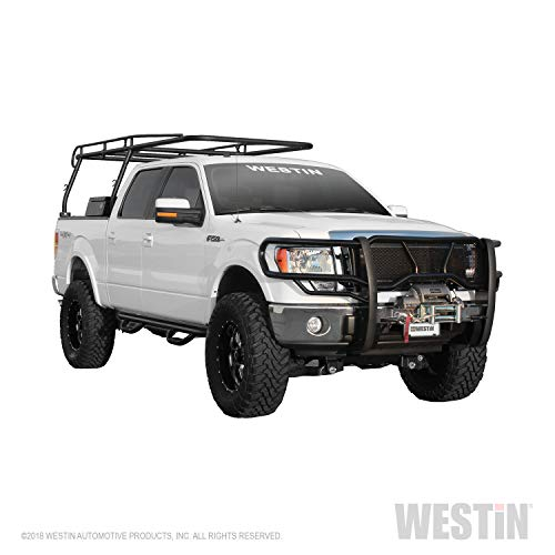 Westin HDX Winch Mount Grille Guard | 2009-2014 F-150 (Excl. Raptor, Harley Davidson) | 57-92505 | Black | 1 Pack