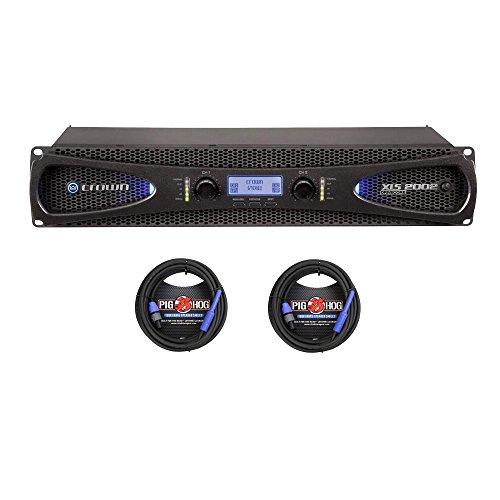 Crown XLS 2002 de 2 canales, 650 W 4 ohmios Amplificador de...