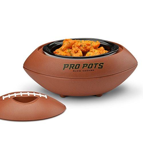 PRO POTS 1.5-Quart Football Slow Cooker