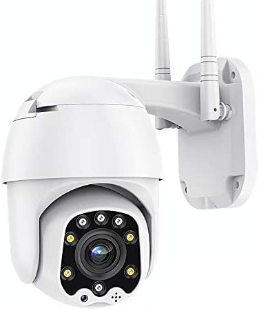 Outdoor PT WiFi IP Security Camera 1080P Home Surveillance Camera Pan Tilt Two Way Audio Motion product image