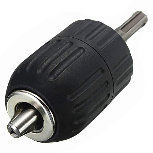 ZDX-MGGJ, 13mm 1pc HSS Broca Taladro portabrocas Portabrocas Mandril Convertidor Adaptador (Color : Black)