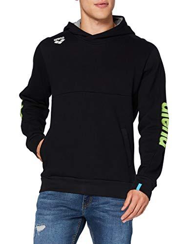 ARENA Te Hooded Sweat, Shirt Unisex – Adulto, Black, S