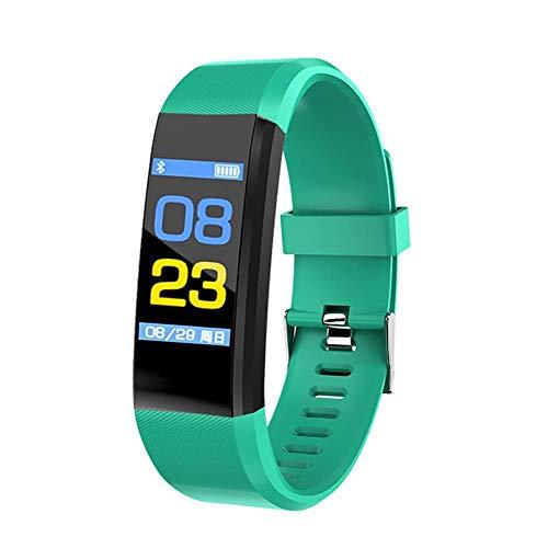 JIAJBG Moda Deportivos S, Pantalla en Color Pulsera de Reloj de Los Deportes de Fitness Correr Caminar Moda Relojes Infantiles para Hombres Mujeres Niños Adecuado (Color: D) el uso