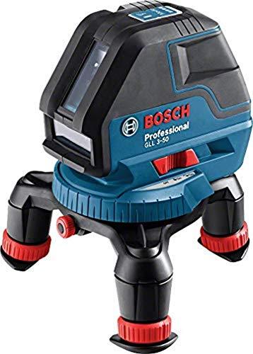 Bosch Professional GLL 3-50 - Nivel láser (alcance 10 m/ 50 m, láser rojo, en L-BOXX