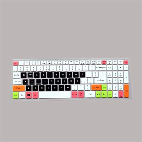 Keyboard Protector Keyboard Protective Cover Skin Protector for 15.6' Acer Nitro 5 AN515-52 AN515 AN5 VX 15 VX5-591G V 17 Gaming VN7-793G 17.3 for laptops (Color : Candyblack)