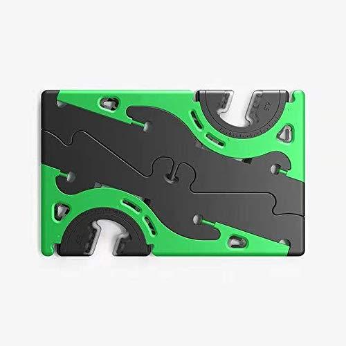 LZHMEK stabiler, faltbarer, tragbarer Handyhalter, Kartentyp, drehbar, praktisch, stabil, Universal-Stativ, verstellbarer Ständer