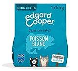 Edgard & Cooper Nourriture Naturelle pour Chat Adulte Croquette sans Cereales Hypoallergénique, Alimentation Premium Saine complète et équilibrée (Poisson, 1,75 kg)