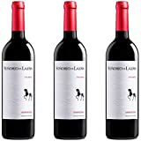 Señorío De Lazán Vino tinto crianza - 3 botellas x 750ml - total: 2250 ml