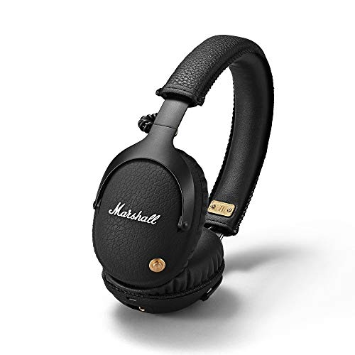 Marshall 4091743 Monitor Bluetooth Over-Ear hoofdtelefoon, Zwart