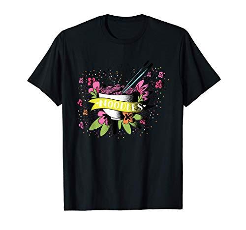 Cuenco de fideos de dibujos animados diseño gráfico Camiseta