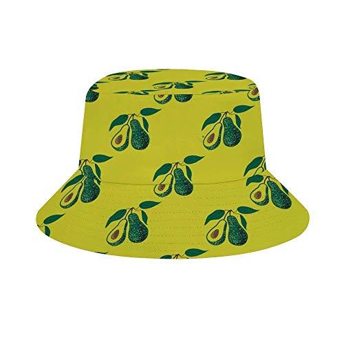 Yuanmeiju Cubo de Sombrero para el Sol Style Men Women Foldable Sombrero de Playa de Pescador Sun Protection Hedgehog Polkadot Oven Mitts