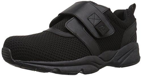 Propet Men's Stability X Strap Sneaker, Black, 13 2X-Wide