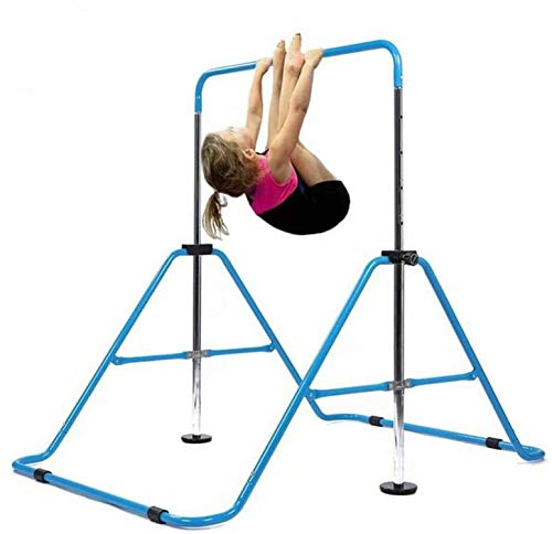 Horizontal Bar Gymnastics Kids Garden Home Reck Stretching Folding Value Gift...