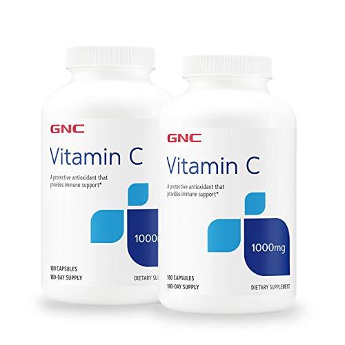 GNC GNC Vitamin C Capsules 1000mg - Twin Pack
